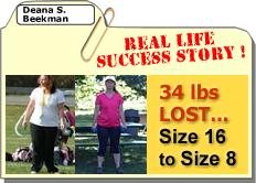 Meet Deana S: 34 lbs Lost